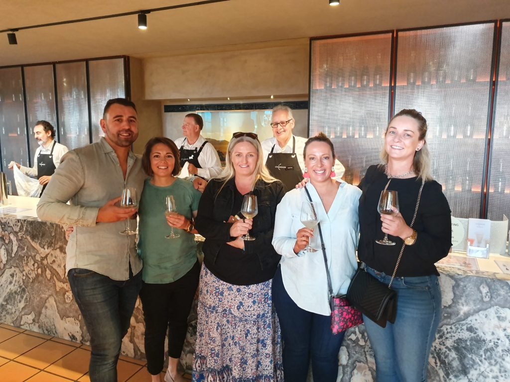 Martin gave our group a great tasting at Domaine Chandon as a first venue for tastings.